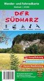 Der Südharz, Wander- und Fahrradkarte