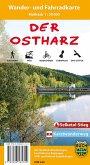 Der Ostharz, Wander- und Fahrradkarte