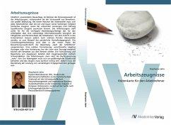 9783639401134 - Jahn, Stephanie: Arbeitszeugnisse - Buch