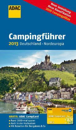 adac campingf hrer 2013 deutschland nordeuropa buch. Black Bedroom Furniture Sets. Home Design Ideas