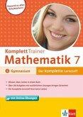 KomplettTrainer Mathematik, 7. Schuljahr Gymnasium