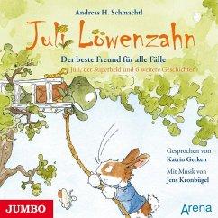 Der beste Freund für alle Fälle / Juli Löwenzahn Bd.2 (1 Audio-CD) - Schmachtl, Andreas H.