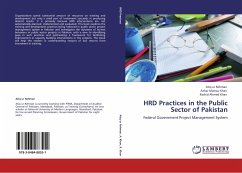 HRD Practices in the Public Sector of Pakistan