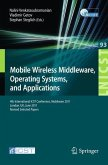 Mobile Wireless Middleware, Operating Systems, and Applications