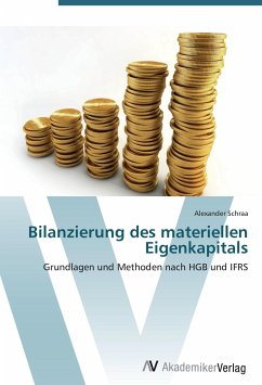 9783639403022 - Alexander Schraa: Bilanzierung des materiellen Eigenkapitals - Buch
