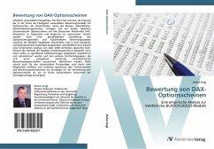 9783639402391 - Stefan Hagl: Bewertung von DAX-Optionsscheinen - Buch