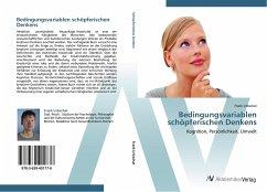 9783639401776 - Urbschat, Frank: Bedingungsvariablen schöpferischen Denkens - Buch