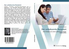 9783639401523 - Golomb, Katharina: Der unbekannte Rezipient - Buch