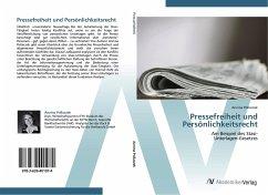 Pressefreiheit und Persönlichkeitsrecht