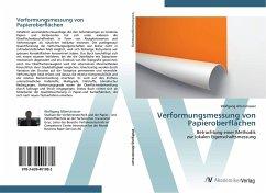 9783639401882 - Altenstrasser, Wolfgang: Verformungsmessung von Papieroberflächen - Buch