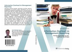 Information Overload im Management Reporting