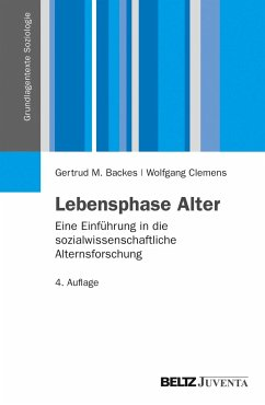 Lebensphase Alter - Backes, Gertrud M.; Clemens, Wolfgang