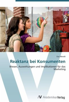 9783639402568 - Wendt, Eva: Reaktanz bei Konsumenten - Buch