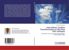 an analysis of inter ethnic conflict Ethnic issues, and will focus on an analysis of the conflicts  and international level in resolving inter-ethnic  on ethnic conflict in the russian.