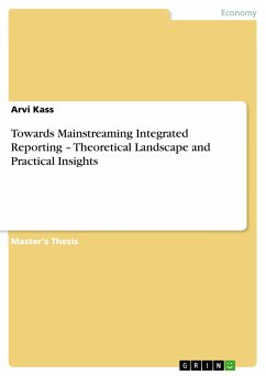 Towards Mainstreaming Integrated Reporting - Theoretical Landscape and Practical Insights