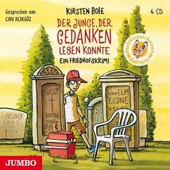 Der Junge, der Gedanken lesen konnte, 4 Audio-CDs - Boie, Kirsten