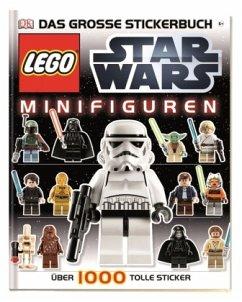 LEGO Star Wars Minifiguren - Das große Stickerbuch