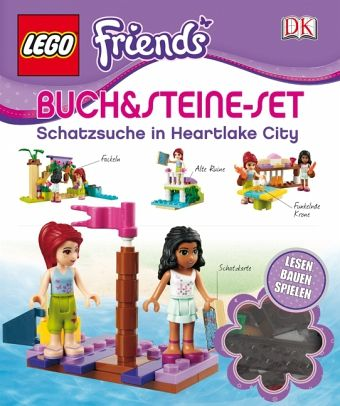 lego friends buch steine set zwei freundinnen auf schatzsuche buch b. Black Bedroom Furniture Sets. Home Design Ideas