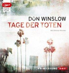 Tage der Toten / Art Keller Bd.1 (4 MP3-CDs) - Winslow, Don
