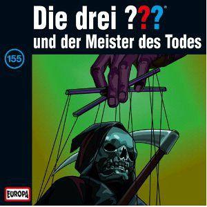 Die drei Fragezeichen und der Meister des Todes / Die drei Fragezeichen - Hörbuch Bd.155 (1 Audio-CD)