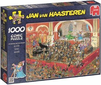 Spielzeug Rund Um Den Neuen Superhelden: Jan Van Haasteren: Die Oper, 1000 Teile