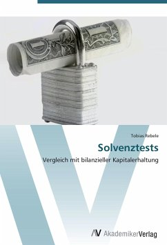9783639403558 - Rebele, Tobias: Solvenztests - Buch