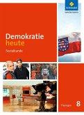 Demokratie heute 8. Schülerband. Thüringen