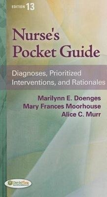 Nurse's Pocket Guide - Doenges, Marilynn E.