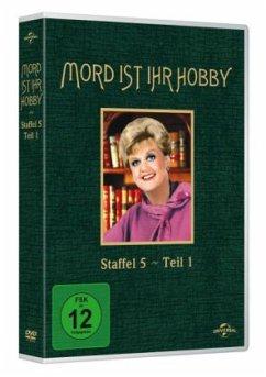 Mord ist ihr Hobby - Staffel 5.1 (3 Discs, OmU) - Lansbury,Angela
