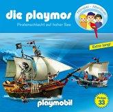 Piratenschlacht auf hoher See / Die Playmos Bd.33 (1 Audio-CD)