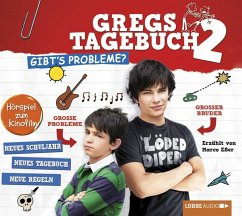 Gibt's Probleme? / Gregs Tagebuch Bd.2 (Audio-CD) - Kinney, Jeff
