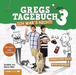 Ich war's nicht! / Gregs Tagebuch Bd.4 (Audio-CD) - Kinney, Jeff