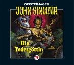 Die Todesgöttin / Geisterjäger John Sinclair Bd.78 (1 Audio-CD)