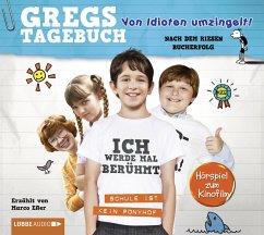 Von Idioten umzingelt! / Gregs Tagebuch Bd.1 (Audio-CD) - Kinney, Jeff