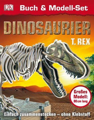 dinosaurier t.rex buch  modell-set portofrei bei bücher.de bestellen