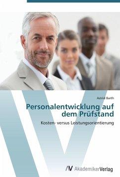 9783639404357 - Astrid Barth: Personalentwicklung auf dem Prüfstand - Buch
