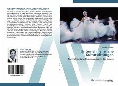 9783639404210 - Poloczek, Annika: Unternehmensnahe Kulturstiftungen - Buch