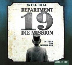 Die Mission / Department 19 Bd.1 (6 Audio-CDs)
