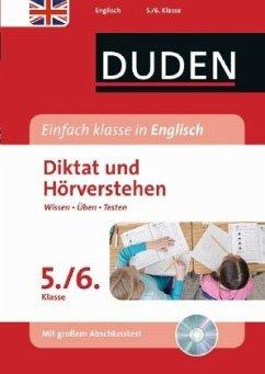 Einfach klasse in Englisch - Diktat und Hörverstehen 5./6. Klasse