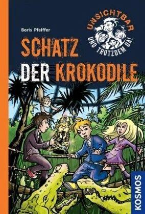 Buch-Reihe Unsichtbar und trotzdem da! von Boris Pfeiffer