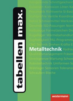 tabellen max. Metalltechnik - Dzieia, Michael; Petersen, Hans-Joachim; Krause, Peter; Tiedt, Günther; Hübscher, Heinrich; Wagner, Helmut