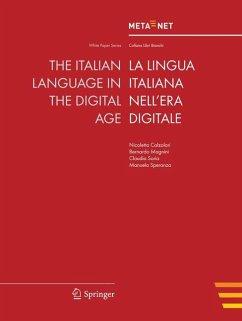 The Italian Language in the Digital Age