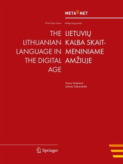 The Lithuanian Language in the Digital Age
