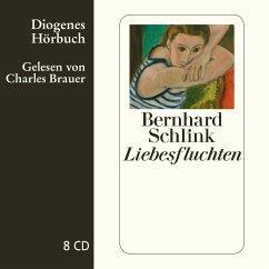 Liebesfluchten, 8 Audio-CDs - Schlink, Bernhard
