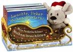 Mein funkelschöner Weihnachtsschlitten (4 Bde. m. Plüschmaus im Weihnachtsschlitten)