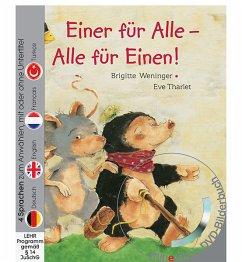 Einer für Alle - Alle für Einen,! m. DVD - Weninger, Brigitte; Tharlet, Eve