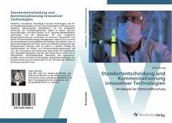 9783639405033 - Hertwig, Anke: Standortentscheidung und Kommerzialisierung innovativer Technologien - Buch