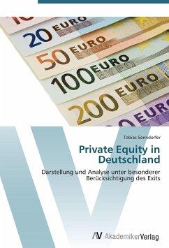 9783639404999 - Sonndorfer, Tobias: Private Equity in Deutschland - Buch