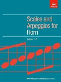 Scales and Arpeggios for Horn, Grades 1-8