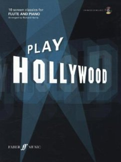 Play Hollywood, flute and piano, w. Audio-CD